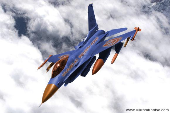 Khalistan_Plane