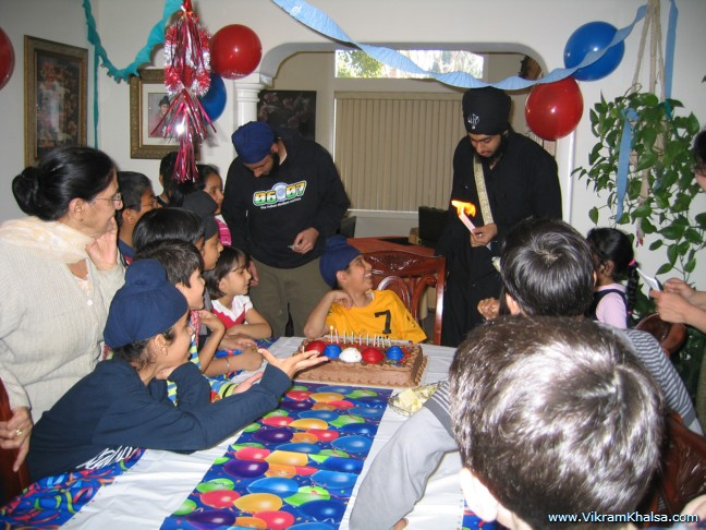 Birthday Party Feb 08