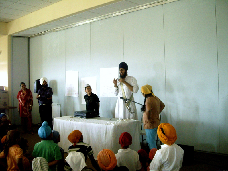 Khalsa School, San Jose Gurdwara Sahib, Sept 2008