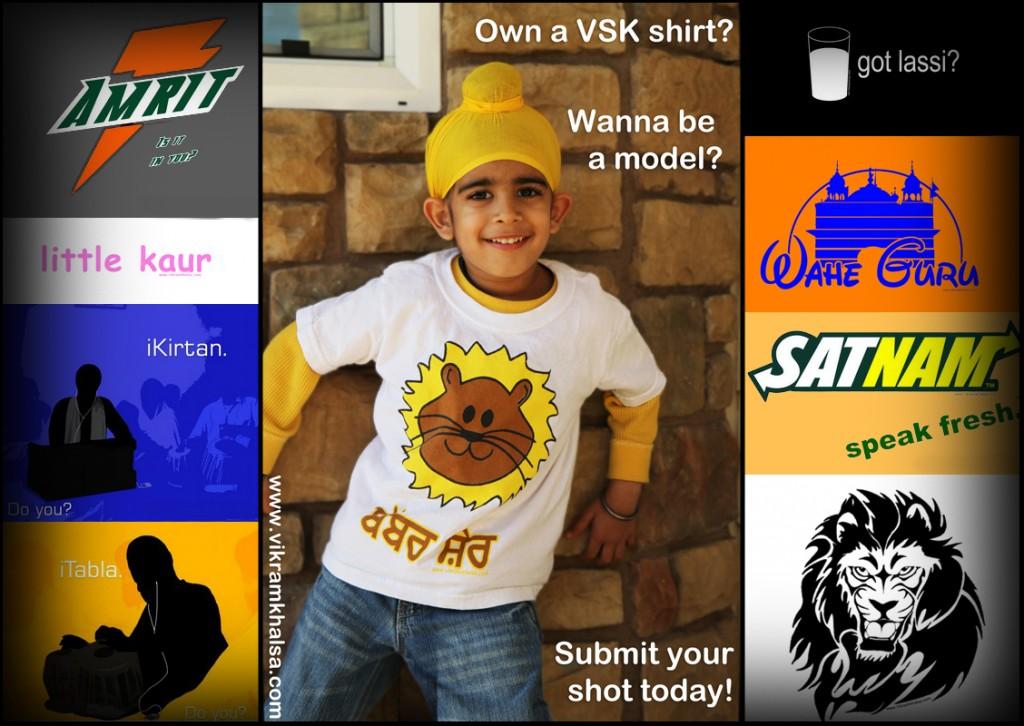 """Nidhaan Singh wearing """"Babbar Sher"""" Shirt"""